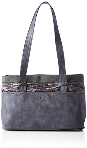 Tamaris Damen Khema Shoulder Bag Schultertasche, (Navy Comb.), 10,5x22x32,5 cm