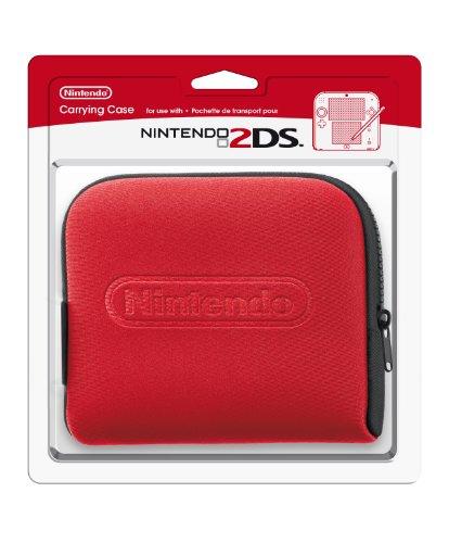 Nintendo 2DS – Tasche (schwarz + rot)