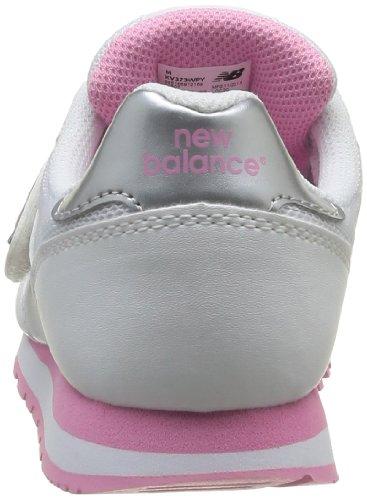 New Balance Mädchen Jr 373 Krabbelschuhe BIANCO/ROSA