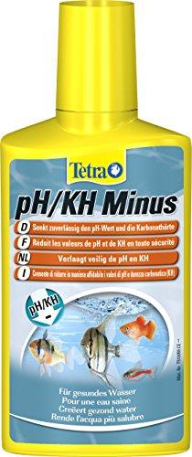 Tetra pH/KH Minus (Wasseraufbereiter zur kontrollierten Senkung der pH- und KH-Werte), 250 ml Flasche