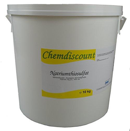 10kg (2x5kg) Natriumthiosulfat (-penthydrat), Na2S2O3, Fixiersalz, chem. rein., versandkostenfrei!