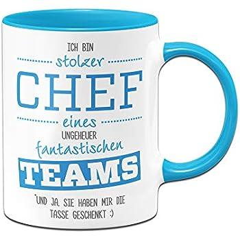"""Tasse mit Spruch """"Ich bin der Boss"""" - Regeln / Paragraphen ..."""