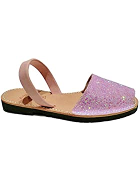 Auténticas avarcas menorquínas, varios colores, para niñas, abarcas, albarcas, sandalias