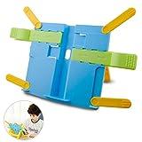 ICheap Leseständer Buchständer Kinder, Buchstützen Buch für Küche und Büro ALS Kochbuchhalter und Leseständer Buchstütze (Blau)