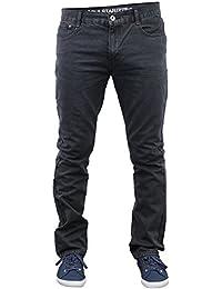 Hommes Jeans Soul Star Pants Droit Ajusté Pantalon Décontracté Créateur