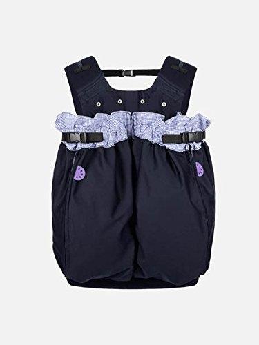 """Weego Babytragesack Modell #325\"""" TWIN Blue Pepita, speziell für Zwillinge ab einem Gewicht von 1800g"""