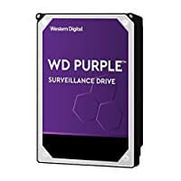 WD WD20PURZ Hard Diski 2 TB Güvenlik Kamerası 5400 RPM SATA 6 Gb/s 64MB Cache 3.5'', Mor