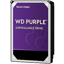 """Western Digital - WD Purple Disque dur interne pour la vidéo surveillance 4To - Intellipower 3.5"""" SATA 6 Go/s 64Mo Cache 5400rpm"""