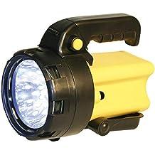 Eaxus®️ LED Handstrahler/Taschenlampe mit Griff Camping & Outdoor Lampen & Laternen ☀️ Suchstrahler/Arbeitsleuch...