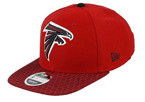 New Era - Atlanta Falcons - 9fifty Snapback - Nfl 17 Onfield - Red - S-M (6 3/8 - 7 1/4)