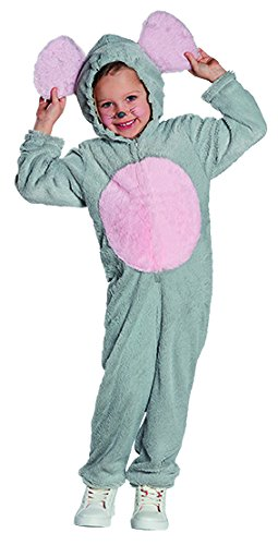 Maus Kinder Kostüm Overall Mädchen Junge Tierkostüm