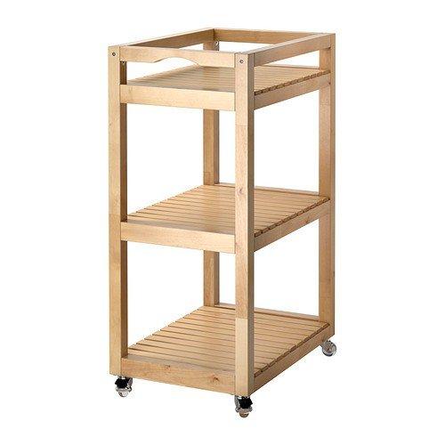 IKEA MOLGER - Trolley birch