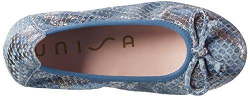 Unisa Casia_17_Fv, Ballerines Fille Multicolore (Jeans)
