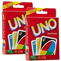FLYmart 2 Set of 108 Cards Uno Family Playing Card |UNO Card Game Complete Pack of 108 Cards (Multicolor) |Playing Cards…