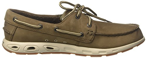 Columbia Bonehead Vent Leather Pfg, Chaussures Bateau Homme Brown (boue, Pierre)