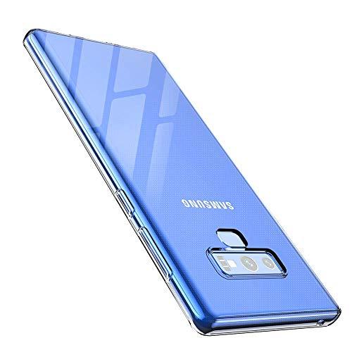anccer Kompatibel Mit Samsung Galaxy Note 9 Hülle, Transparent Weiche Silikon [Ultradünnen] Handyhülle,Anti-Kratzen,Anti-Fingerabdruck,Anti-Fallen Cover für Samsung Note 9 (Clear) Clear Cover Clip