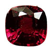 Natural red sapphire stone Weight 6.40 carats Burma Size 9.67-9.51 - 6.88 With Salad identification card 9