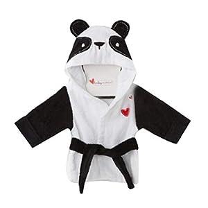Bebé Fleece Con Capucha Albornoz Unisex Bebés Robe Panda Pijama De Dormir 11