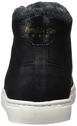 Pantofola d'Oro - Anna Donne Fur Mid, Pantofole a Stivaletto Donna nero (nero)