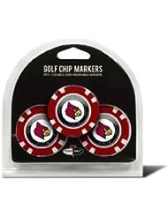 NCAA Louisville Golf Chip (3-Pack) by Team Golf