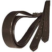 Kerbl Steigbügelriemen Leder Leder Riemen für Steigbügel Lederriemen 2 Größen