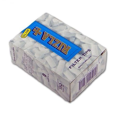 Rizla Silver Lot de 10 paquets de filtres type paquets