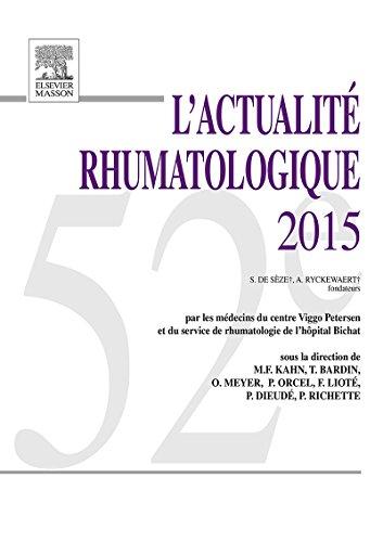 L'actualité rhumatologique 2015 (French Edition)