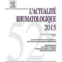 L'actualité rhumatologique 2015
