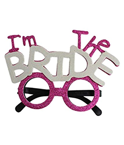 Smartcraft I'm The Bride Eye Glasses , Bachelorette Party Supplies , Party Sunglasses  available at amazon for Rs.199