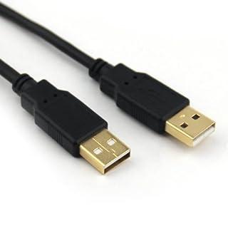 Avanquest cu203g-b-10feet 3.05m USB A Samsung 30-pin USB Cable–Black (3.05m, USB A, USB Data Cable Samsung 30-Pin Male/Male, Black, Gold)