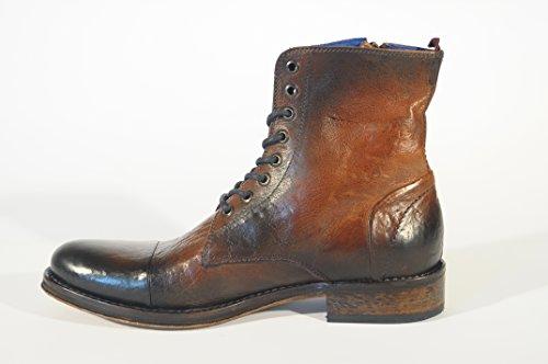 Calzaturificio Lorenzi S.a.s. 7706, bottes de motard homme Marrone (Tabacco)