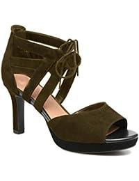 Femmes chaussures plateforme daim model VANEZA par HGilliane Design Eu 33 au 44