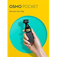 DJI Osmo Pocket Action Cameras 4K, Black, DJI-Zpk100