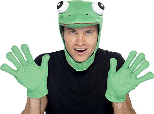 Hut M�tze mit Handschuhen zum Tierkost�m (Skelett Kostüme Für Männer)
