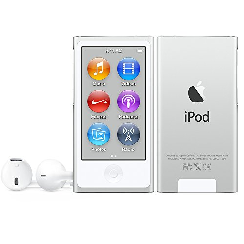Apple iPod nano nano MP4 player 16GB Silver - MP3/MP4 Players (MP4 player, 16 GB, LCD, Lightning, FM radio, Silver)