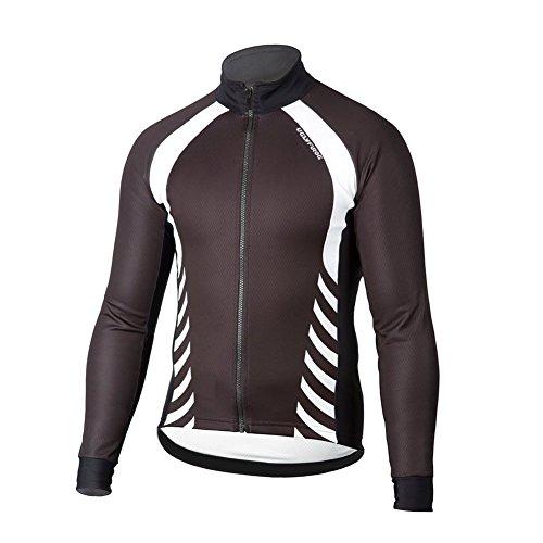 Uglyfrog Radtrikot Lange Ärmel Fahrradtrikot Herren T-Shirt Jersey Radsport Funktionsshirt Elastische Atmungsaktive Schnell Trocknen Stoff -