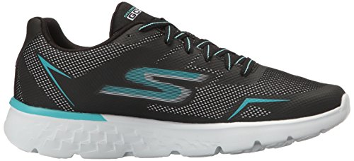 Skechers Performance Damen Go Run 400 Laufschuhe Schwarz (Black/aqua)