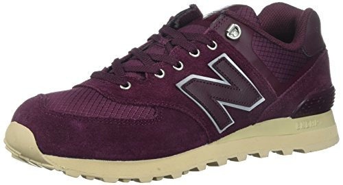 Multicolore 44 New Balance 574 Sneaker Uomo Chocolate Cherry EU w18