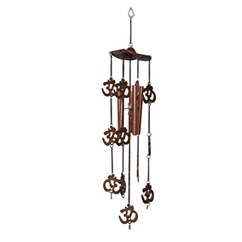 Divya Mantra Feng Shui Om 5 Pipes Wind Chime  available at amazon for Rs.275