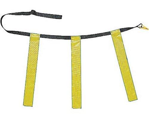 Champion Sports Triple Flag Football Set, Unisex, TFFYYL, gelb, Size 25/31 -