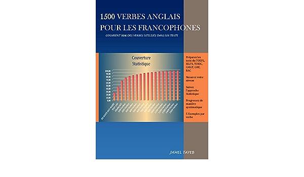 1500 Verbes Anglais Pour Les Francophones Ebook Tayeb Jamel Amazon Fr