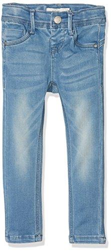NAME IT Mädchen NKFPOLLY DNMTIA 1005 Pant NOOS Jeans, Blau (Light Blue Denim), 110