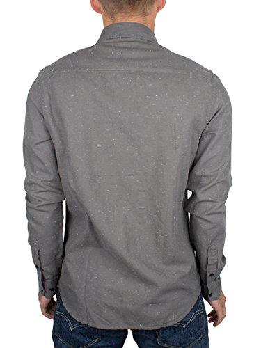 Only & Sons Homme Sejr Slim Fit Shirt tachetée, Gris Gris
