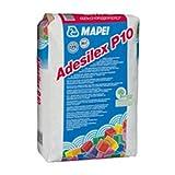 Aufkleber Weiß für Beschichtungen 25kg Adesilex P10Mapei