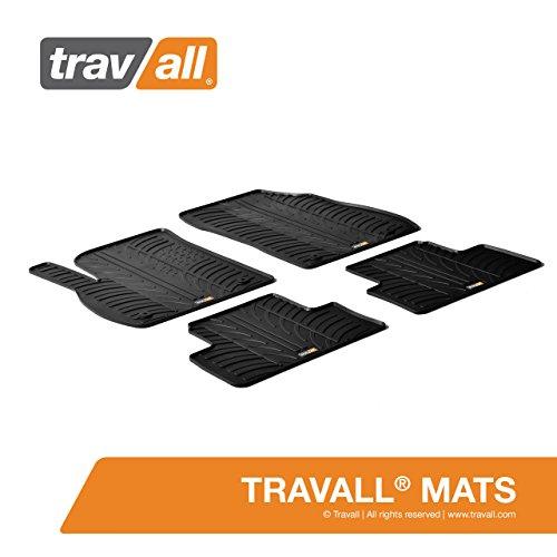 Travall® Mats Gummifußmatten - Original Travall® Zubehör TRM1036 – Allwettermatten nach Maß