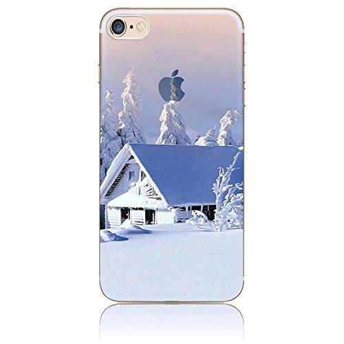iPhone 6S Plus Hülle, iPhone 6 Plus Hülle, Vandot Landschaft Schutzhülle für iPhone 6S Plus / 6 Plus Natur Design Landscape Malerei Painting Case Cover aus TPU Silikon Muster Pattern Abdeckung Telefon Color 26