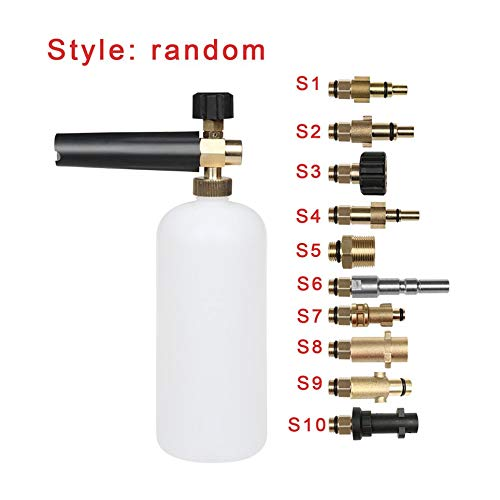 Pistola botella jabón lavadora presión espuma Lance