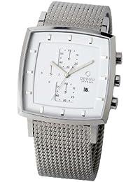 Obaku Harmony Harmony 28-V134GCWMC2 - Reloj para hombres, correa de acero inoxidable color plateado