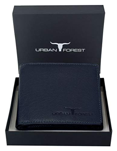 URBAN FOREST Dark Blue Men's Wallet