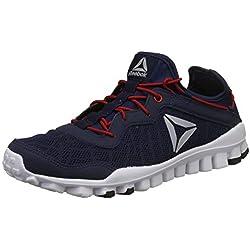 Reebok Men's One Rush Flex Xt Lp Coll Navy/Red Running Shoes-9 UK/India (43 EU)(10 US) (CN8157)